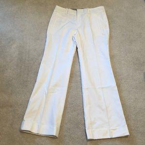 Never worn, Banana Republic White Trouser Pants